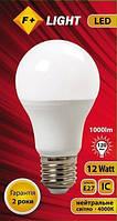 Светодиодная лампа A60T 12W 4000K IC F+Light