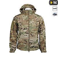 Куртка-ветровка M-Tac непромокаемая, мембрана Soft Shell, мультикам