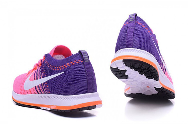Nike Air Zoom Flyknit Streak Pink Blue