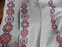 Детское постельное белье Крыжма с вышивкой Орепей бязь