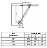 Газовый лифт-амортизатор HAFELE 100N  сталь, серебристый., фото 3