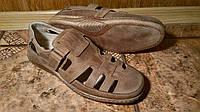 Мужская комфортная обувь TRAFIK из натуральной кожи для активных людей