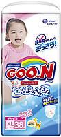 Трусики-подгузники GOO.N для девочек 12-20 кг (размер Big (XL), 38 шт) (853083)
