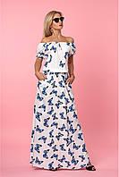 Платье-сарафан в пол