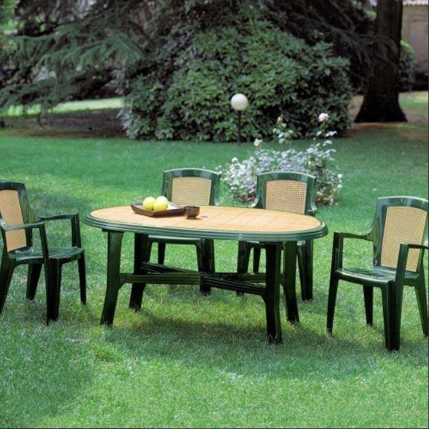 Кресло садовое Viola wood (в комплекте)
