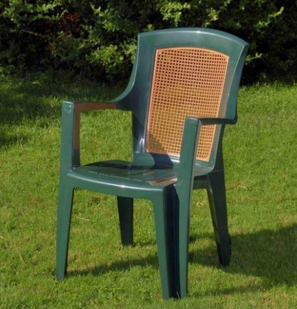 Кресло садовое Viola wood (в саду)