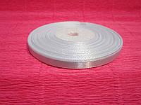 Лента атласная 6 мм * 33 м. (Белый)