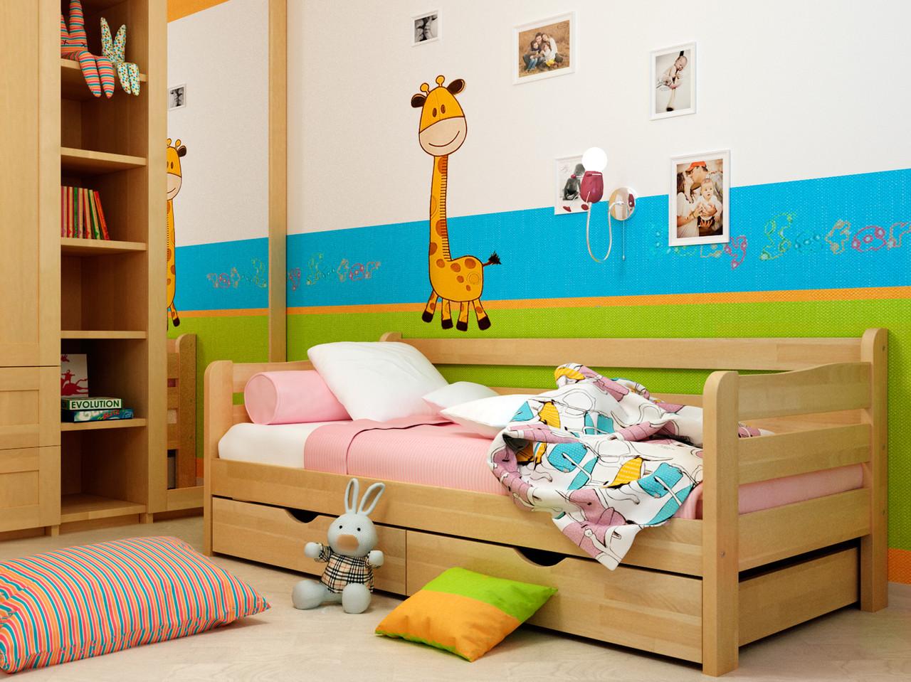"""Кровать деревянная Соня 2 (БУК) - Интернет магазин  """"Мебель для спальни"""" (spalenka.com.ua) в Днепре"""