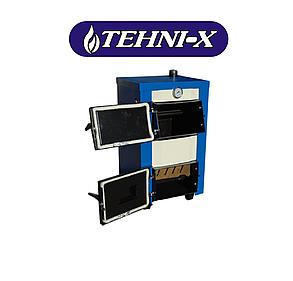 Котел твердотопливный TEHNI-X КОТВ-14-У длительного горения, фото 2