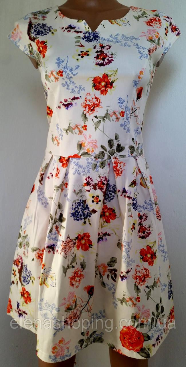Платье летнее  44-48 р