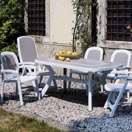 Кресло садовое BETA белое, серое, фото 2