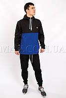 Мужской анорак спортивный черно-синий Fred Perry(бесплатная доставка+подарок)