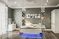 Спальня  Бианко белый глянец
