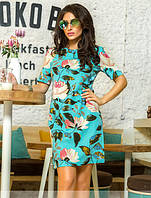 """Стильное женское платье """"Лотос"""", фото 1"""