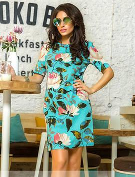"""Стильное женское платье """"Лотос"""""""