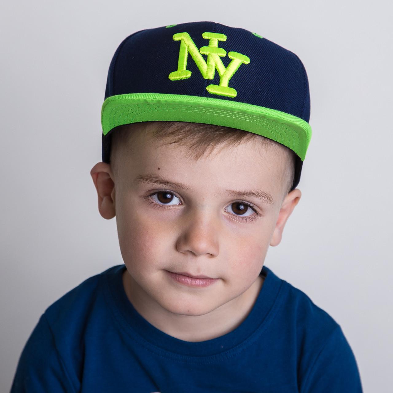 Реперская кепка для мальчика Snapback от производителя - New York - Б33