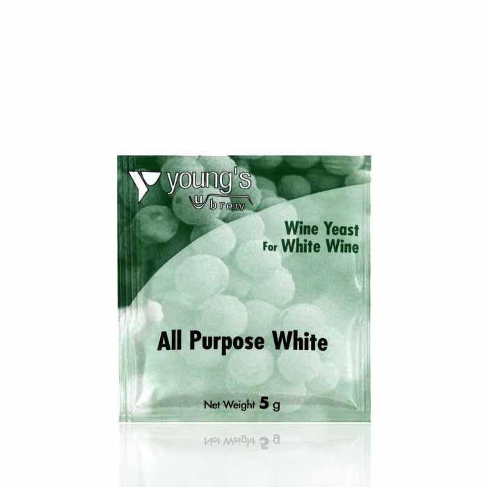 Дрожжи для белых вин Young's All Purpose White Wine Yeast