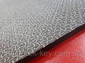 Облегчённая микропористая резина TOMS на тканевой основе 670*740*9 мм цвет коричневый