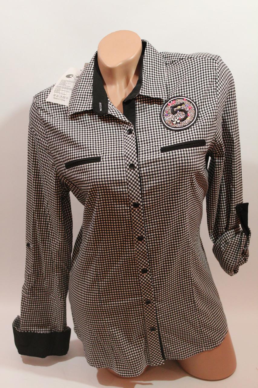 cbe950113fa0 Женские батальные рубашки в клетку оптом ML, Cat. Турция - Ван Плюс в  Хмельницком