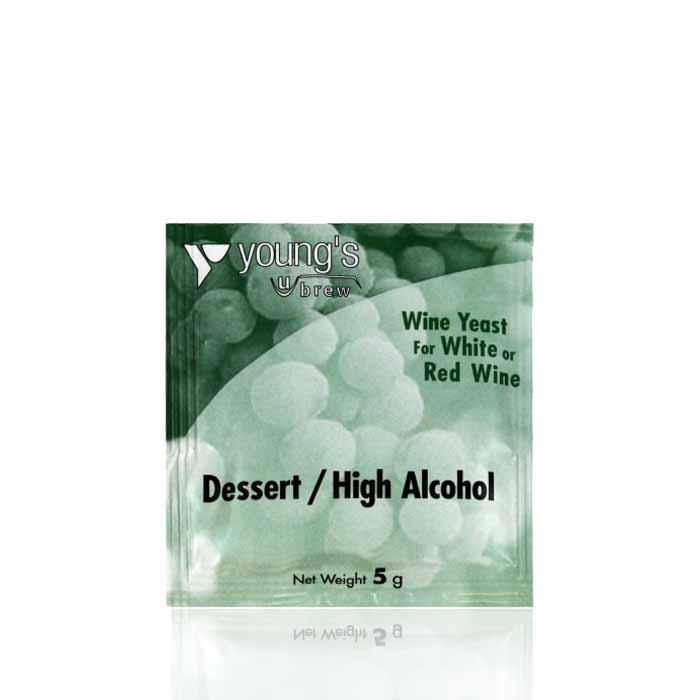 Дрожжи для десертных вин Youngs Dessert / High Alcohol Yeast