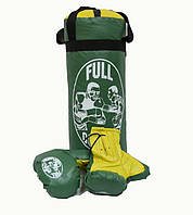 """Детский боксерский набор """"Full contact"""" (детская боксёрская груша и перчатки)"""