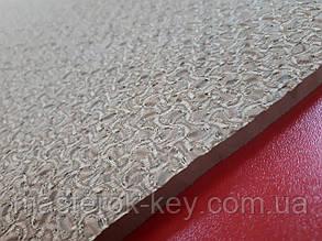 Облегчённая микропористая резина TOMS на тканевой основе 640*690*9 мм цвет бежевый