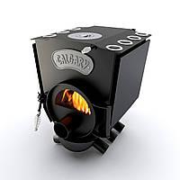Печь варочная с конфоркой и стеклом тип 00 (130м.куб)  – CALGARY. Булерьян варочный со стеклом