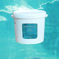 Пурефлок. Коагулянт (флокулянт) -  средство для осветления и увеличения прозрачности воды.