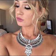 Ожерелье воротник в стиле Бохо. Винтаж. Этно стиль