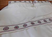 Постельное белье с вышивкой Древо жизни двуспальное евро сатин