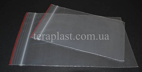 Пакеты с замком зип-лок 100*120 мм (50мкм), фото 2