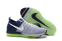 Кроссовки Nike Zoom All Out Flyknit Grey Blue, фото 1