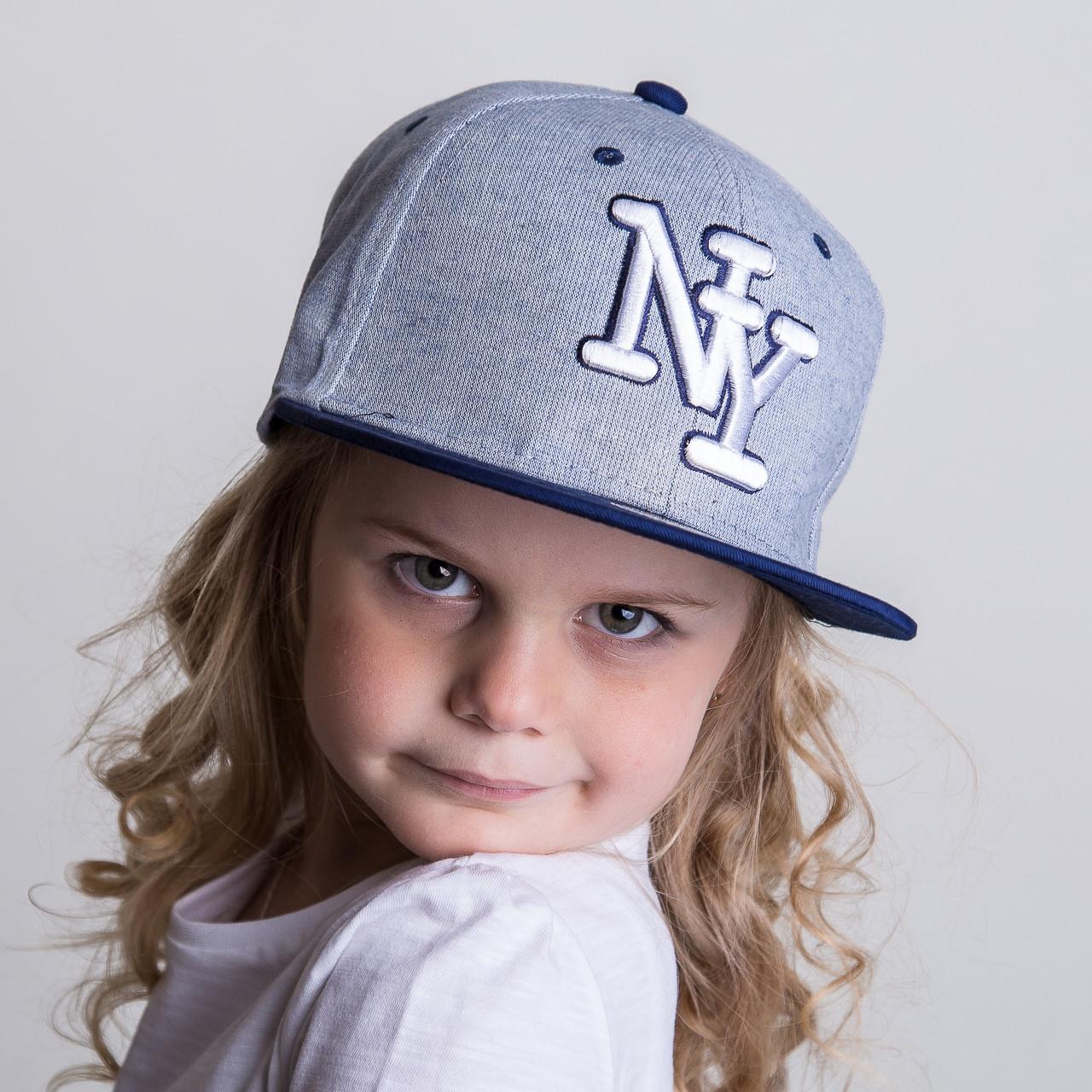 Реперская кепка для девочек Snapback от производителя - New York - Б37