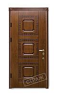 """Двери бронированные ТМ """"Страж"""" Patina R 31"""