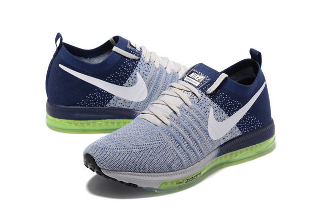 Nike Zoom All Out Flyknit Grey Blue
