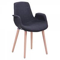 Кресло лофт Leonar FB Wood Черный