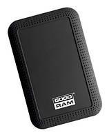 Внешний жесткий диск 1Tb Goodram DataGO, Black, 2.5', USB 3.0, 5400 rpm (HDDGR-01-1000)