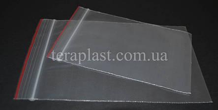 Пакеты с замком зип-лок 120х180 мм (100шт) 50мкм, фото 2