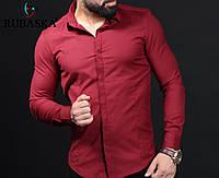 Брендовая турецкая мужская рубашка - модель RSK-3054