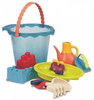 Мега ведерце Море 9 предметов набор для игры с песком и водой Вattat (BX1444Z)