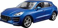 Авто конструктор автомобиля Porsche Macan синий металлик 1:24 Bburago (18-25117)