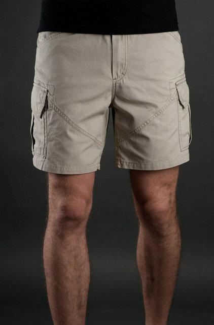 Мужские карго шорты. Шорты с накладными карманами.