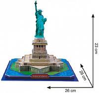 Трехмерная головоломка конструктор Статуя Свободы США CubicFun (C080h)