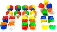Кубик головоломка ZhanChi 3х3х3 50мм цветной пластик DaYan  (DY50ZW)