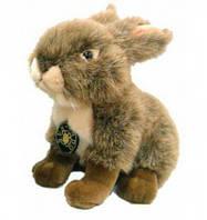 Кролик коричневый сидячий 18 см Devilon (IPF-005A-07)