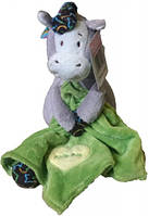Лошадка с одеялом 19 см зеленый Devilon (D1228319-2)