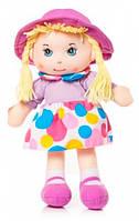 Мягконабивная кукла в шляпке 36 см Devilon (56114-3)