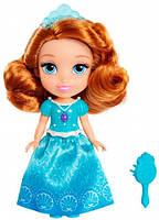 Принцесса София с расческой голубое платье мини кукла Disney Sofia the First Jakks Pacific (01301 (98851))