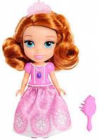 Принцесса София с расческой розовое платье мини кукла Disney Sofia the First Jakks Pacific (01301 (98849))