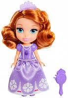 Принцесса София с расческой фиолетовое платье мини кукла Disney Sofia the First Jakks Pacific (01301 (98850))